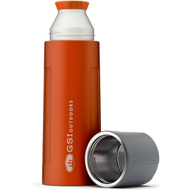 GSI Glacier Stainless Vacuum Bottle 1000ml orange